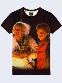 Футболка Back to the Future Marty and Doc