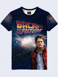 Футболка Back to the Future Marty